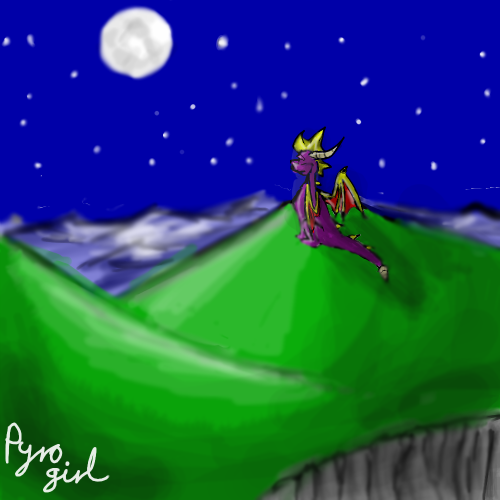 Spyro by PyroDragoness
