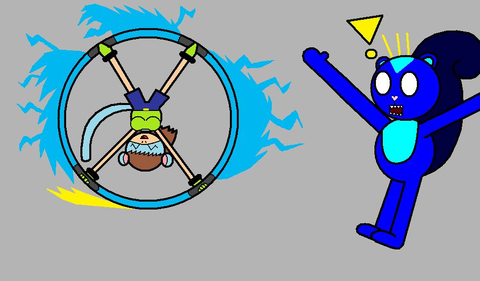 Rolling Hoop Attack by pacman64dx