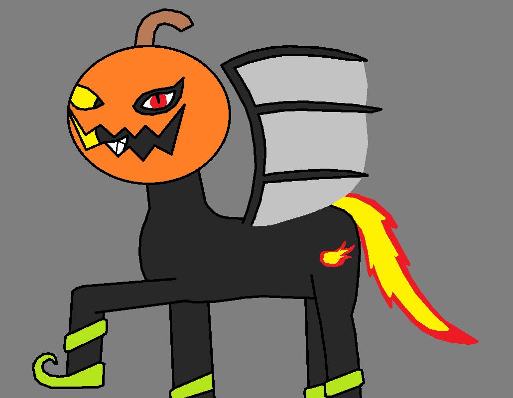 Netherstomp's Nightmare Night Costume by pacman64dx