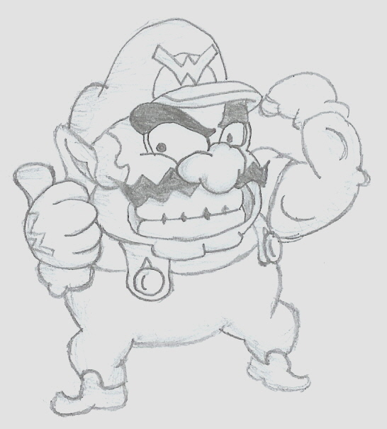 WARIO!!! by pacmaster2000