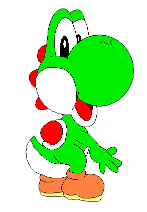 Yoshi! by pacmaster2000
