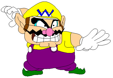 Wario by pacmaster2000