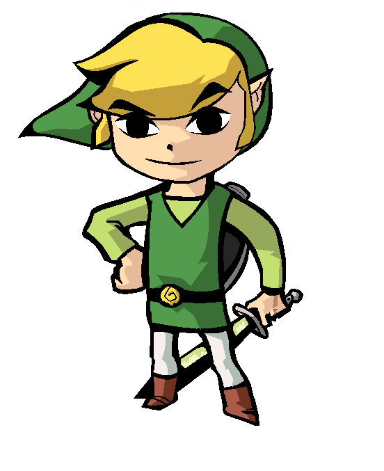 Wind Waker Link by pacmaster2000
