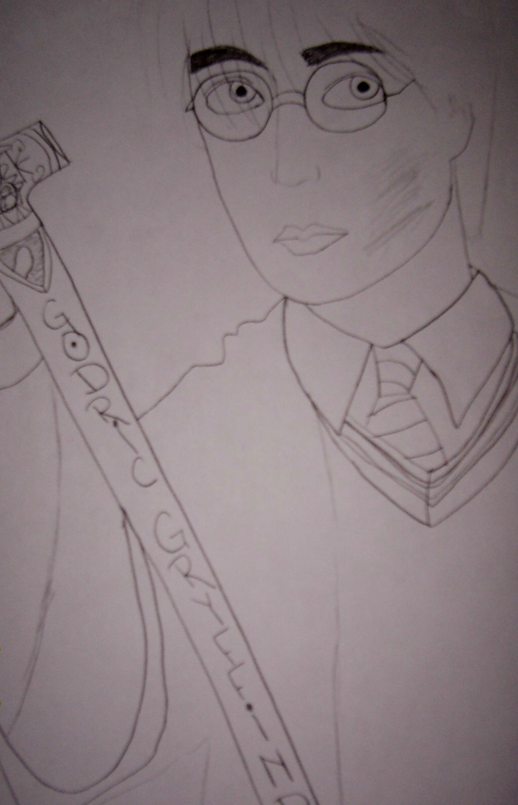 Harry with Godric's sword by pansyparkinson1313