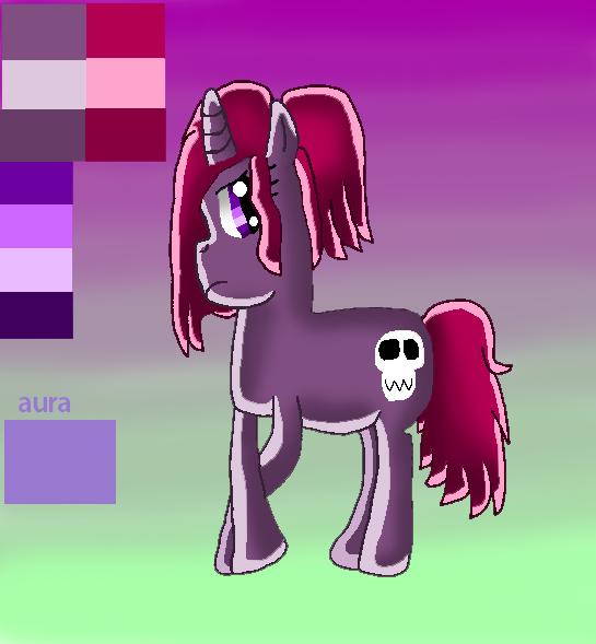 Aurora the unicorn! by papiocutie