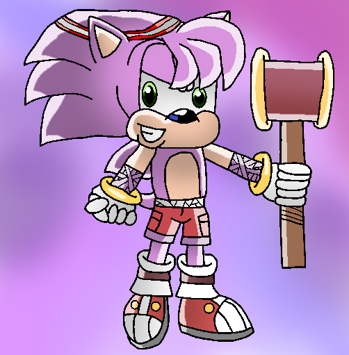 Gender bender: Amy Rose (Sonic boom) by papiocutie