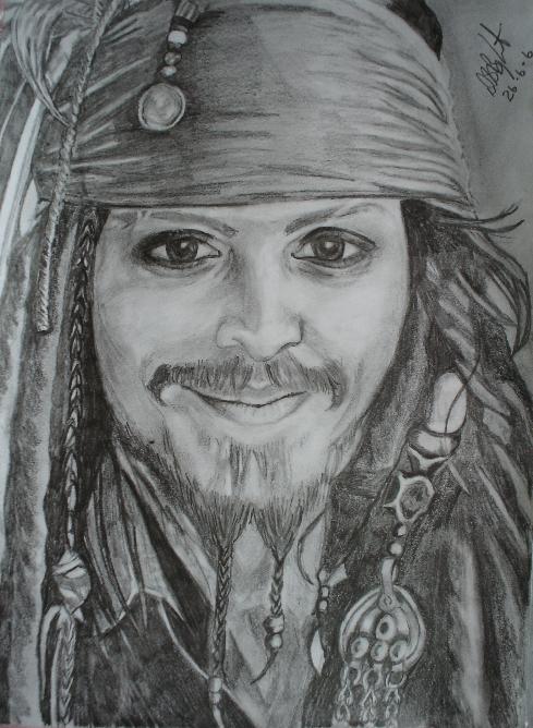 Capt,n Jack Sparrow, Luv! by pebbles