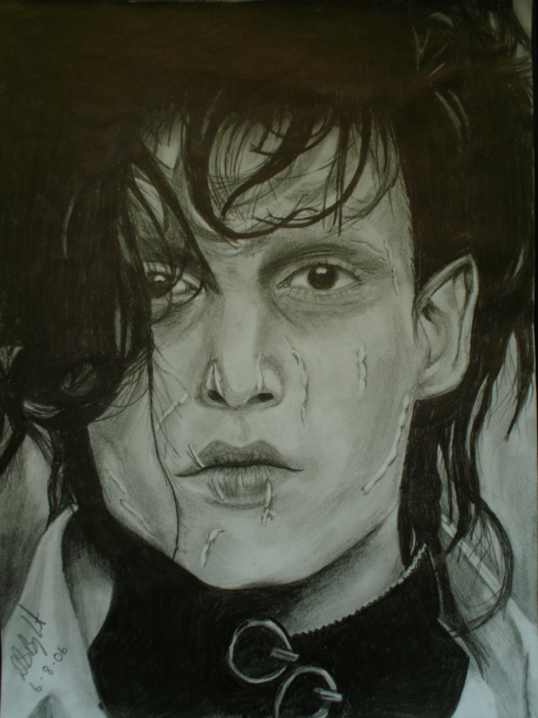Edward Scissorhands by pebbles