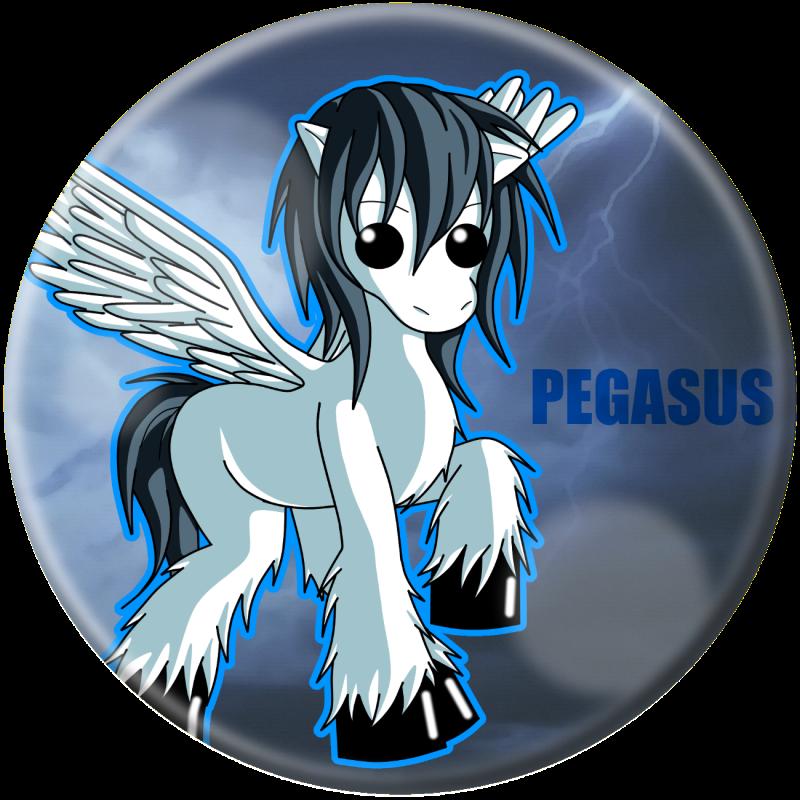 Chibi Pegasus by pharohserenity