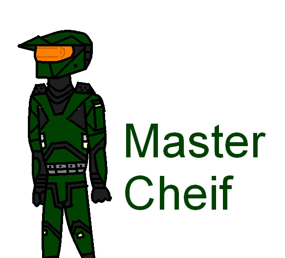 Master cheif, spartan 117 by pichu610