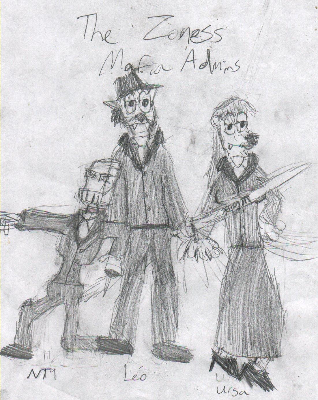 Zoness Mafia Admins by pieandchips666