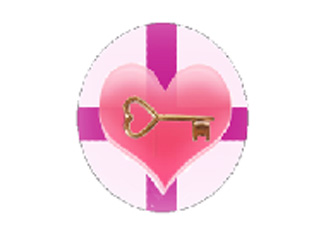 "The Key To My Heart Badge"" by pixiepumpkin"