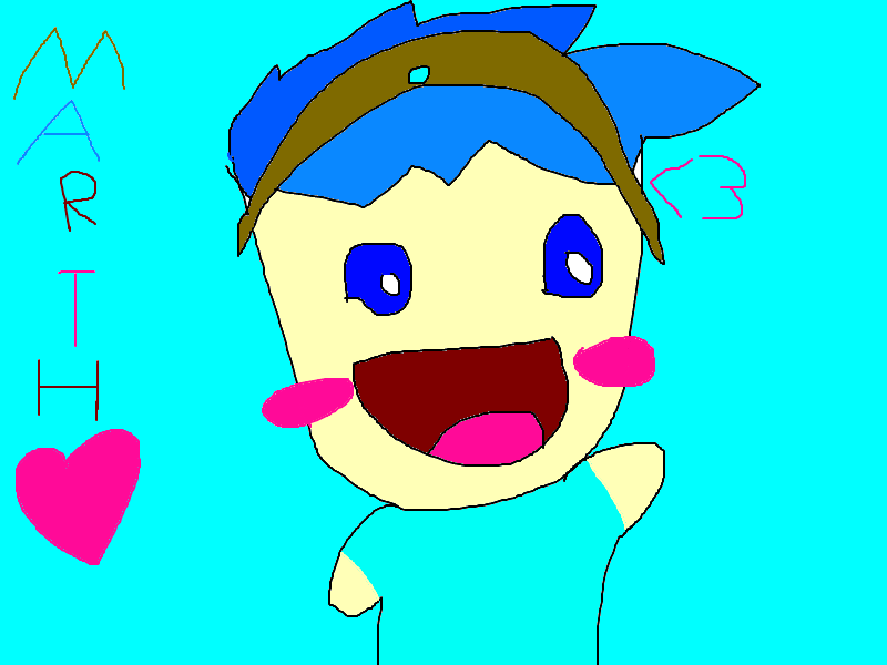 Marth iz happeh xD for Platypusluver by pixiewolf05