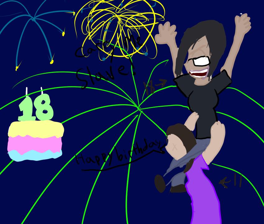 HAPPY BIRTHDAY MEL!~ by pixiewolf05