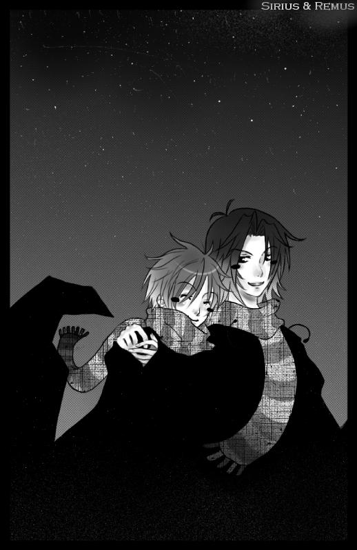 Sirius & Remus by poonyo