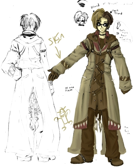 poogly Hiroshi chara sketch by poonyo