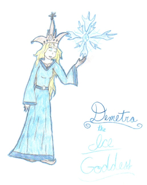 Demetra the Ice Goddess by potterfan