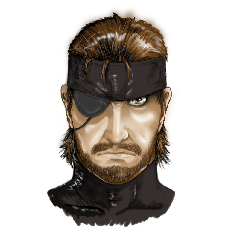Big Boss (Naked Snake) by ppleong