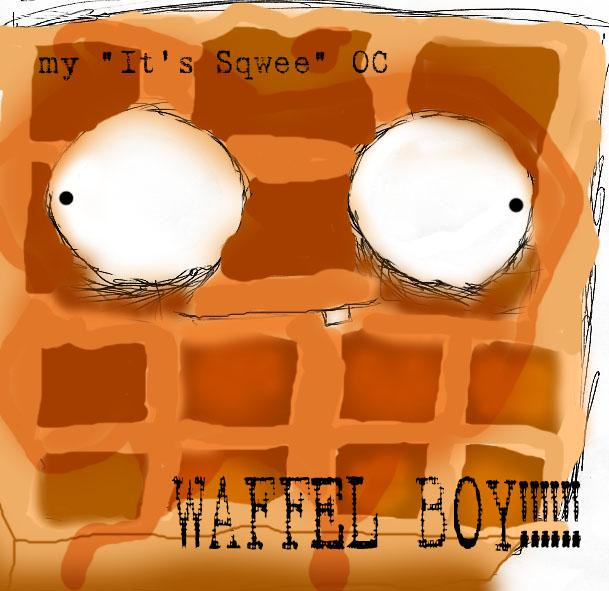 waffel boy my OC by precurser_stone