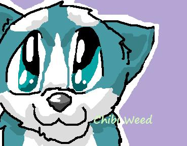 Chibi Weed by prettykitty97