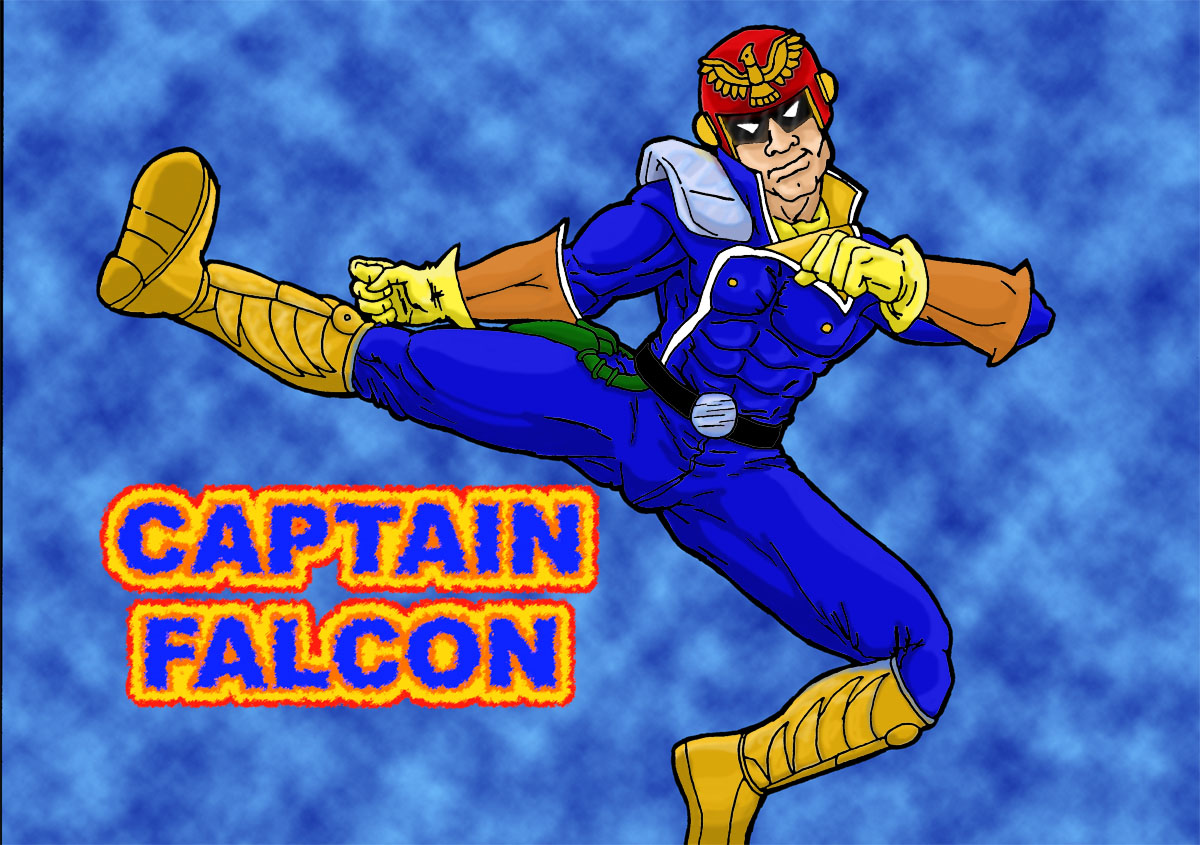 captain falcon by pronxly
