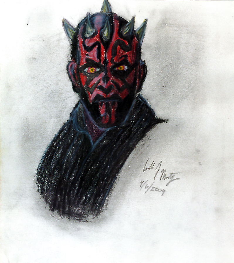 Darth Maul by psych00z