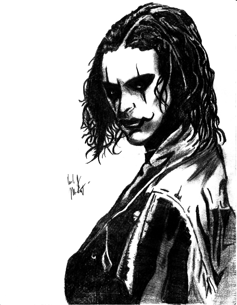The Crow by psych00z