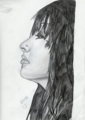 Christina aguilera in profile by puddingpop