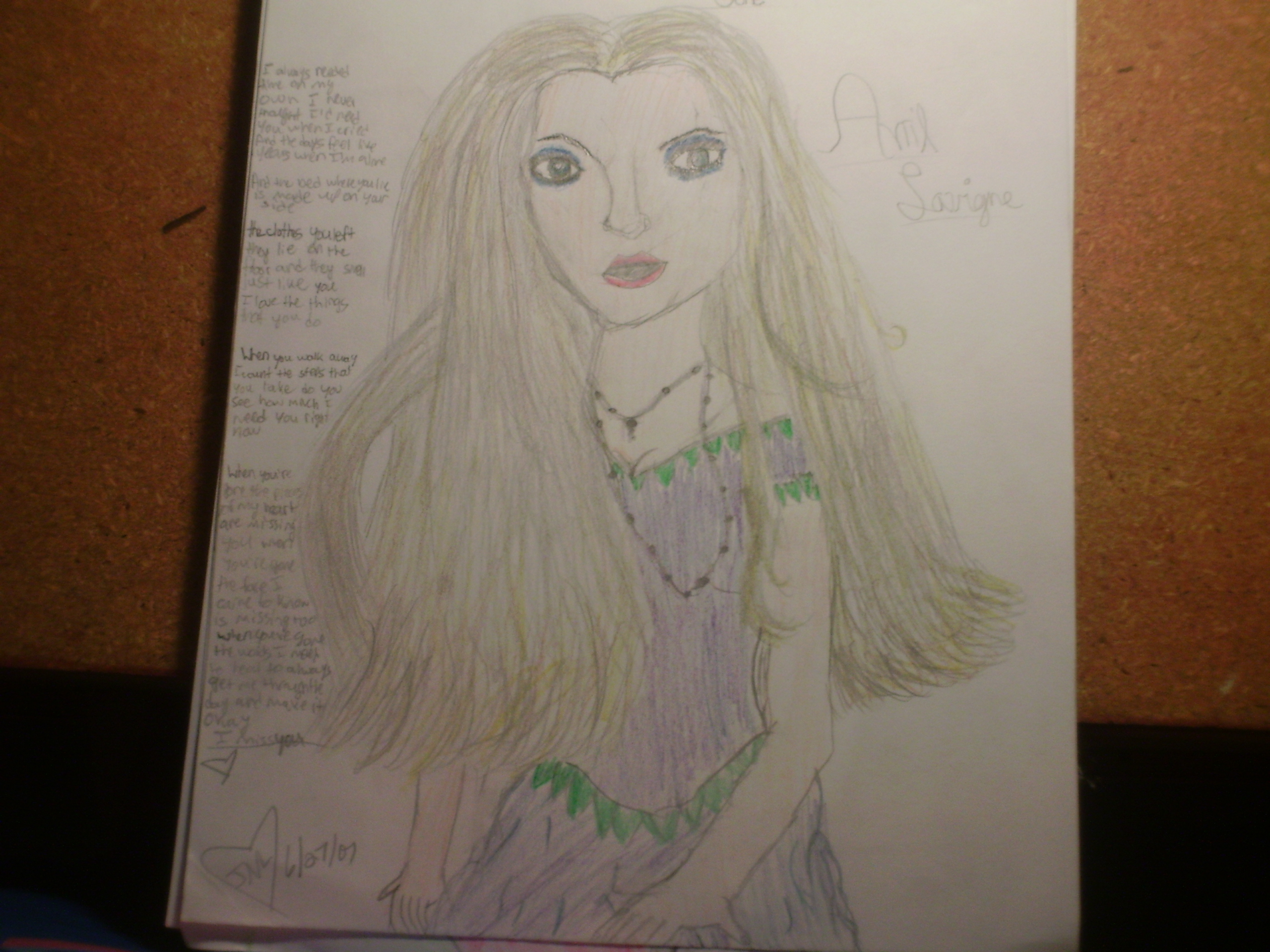 Avril Lavigne music video When Your Gone by purplegirlygirl