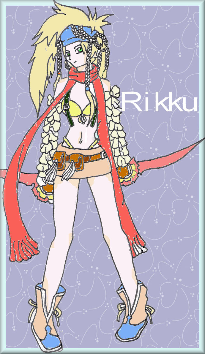 Rikku by Qing