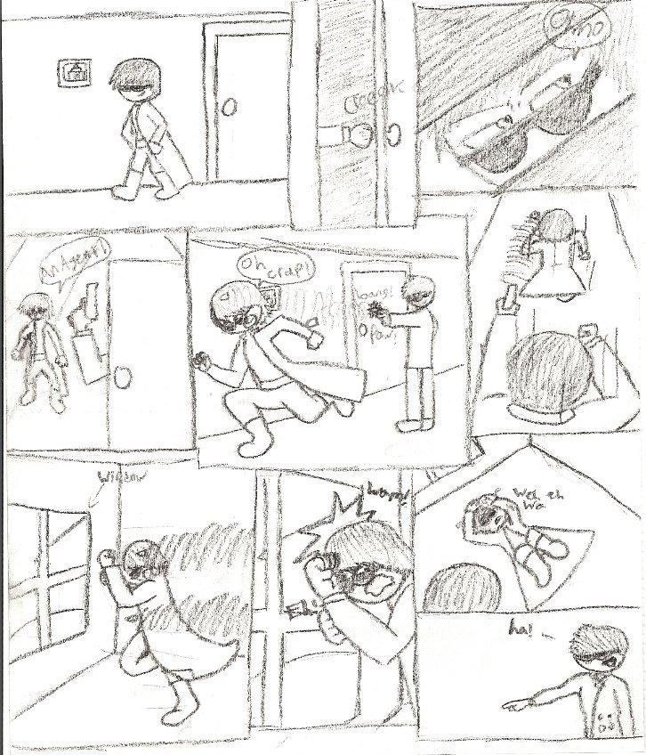 A Matrix Moment by QuackBoy