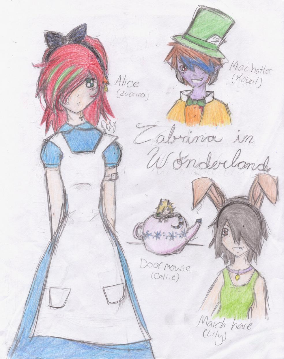 Zabrina In Wonderland by QueenPaige