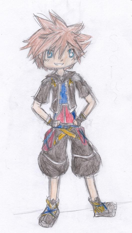Sora - AT with IAmPhotoShop by QueenPaige