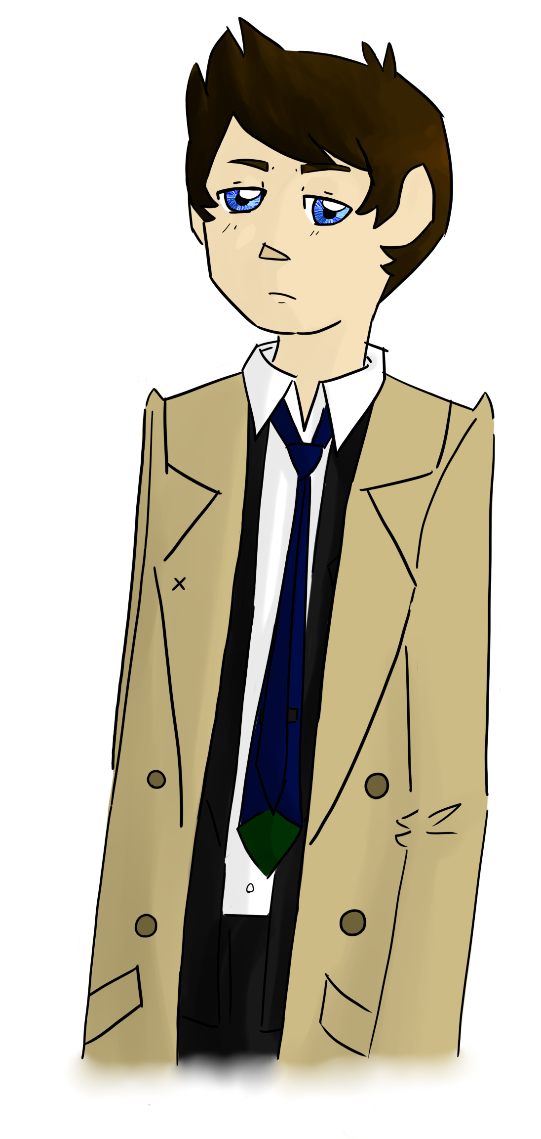Castiel by QueenPaige