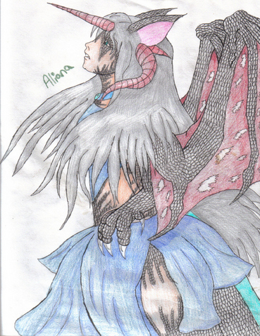 Sephiroth's Daughter Colored by Queen_Asheer5600