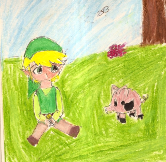 Toon Link & friends by QueenofRed