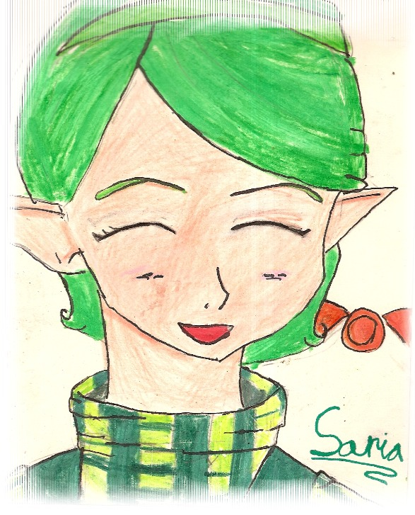 Saria :D by QueenofRed
