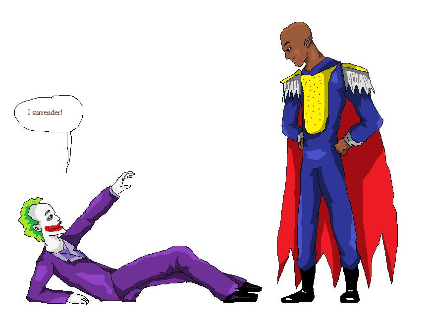 Trash Gordon vs Joker by qazqaz1