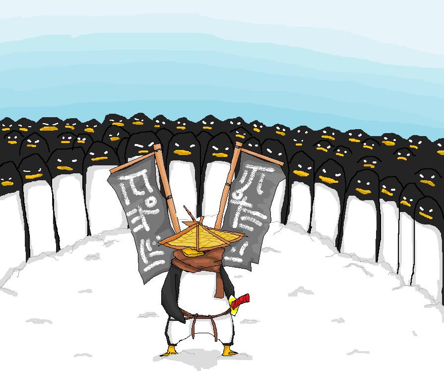 Penguins by qazqaz1