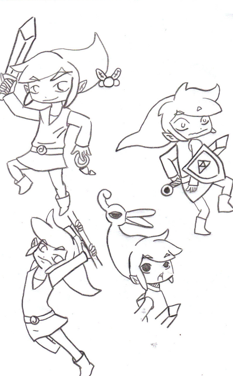 All My Links (Wind Waker) by qgcooper