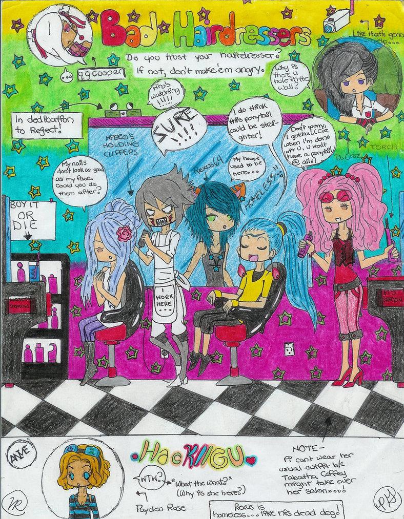 Bad Hairdressers HackGU by qgcooper