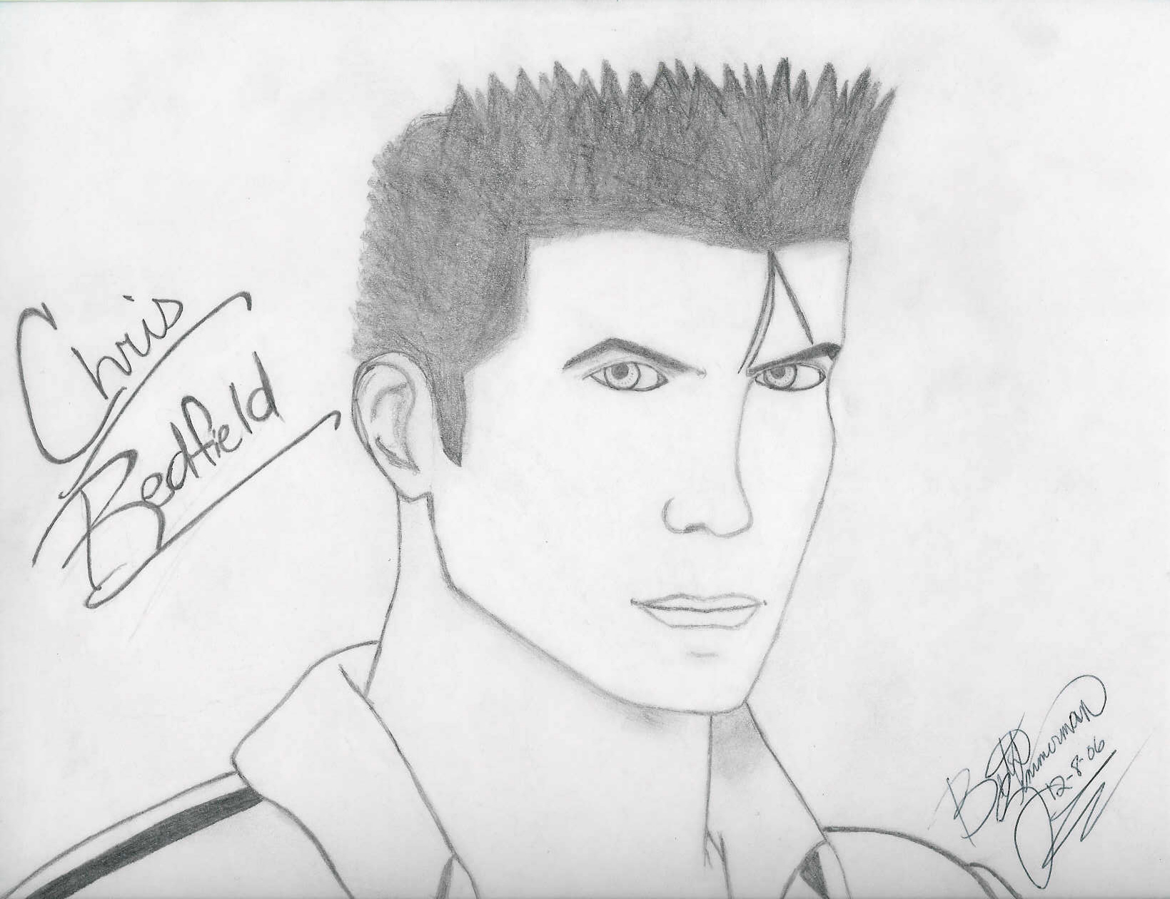 Chris Redfield by REG89