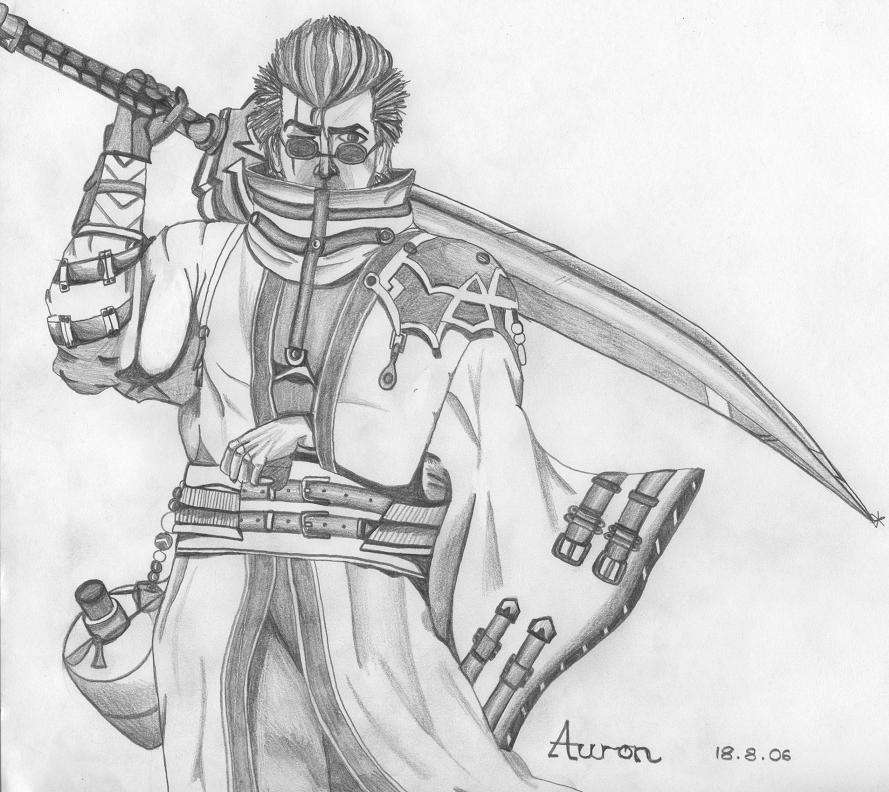Auron by RabbiSpitanik