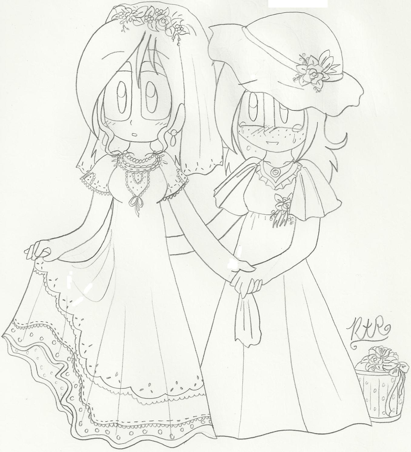 Wedding Gown: Rae` and Lauren by RaeAshleyRodri