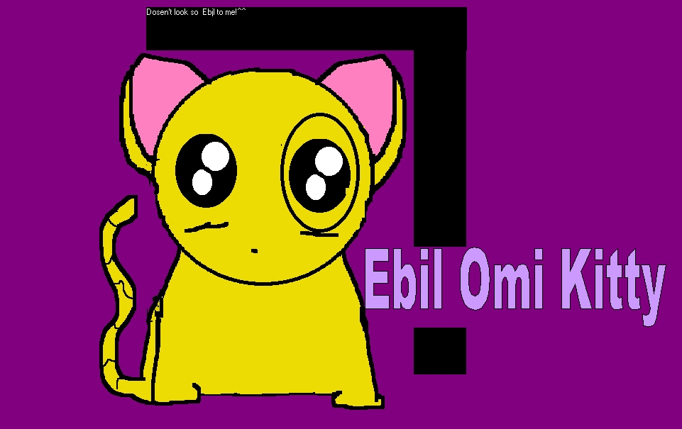 Ebil Omi Kitty by RaimoundosPuppet