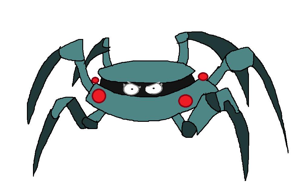 Robo Spider by Rainbow-Dash-Rockz