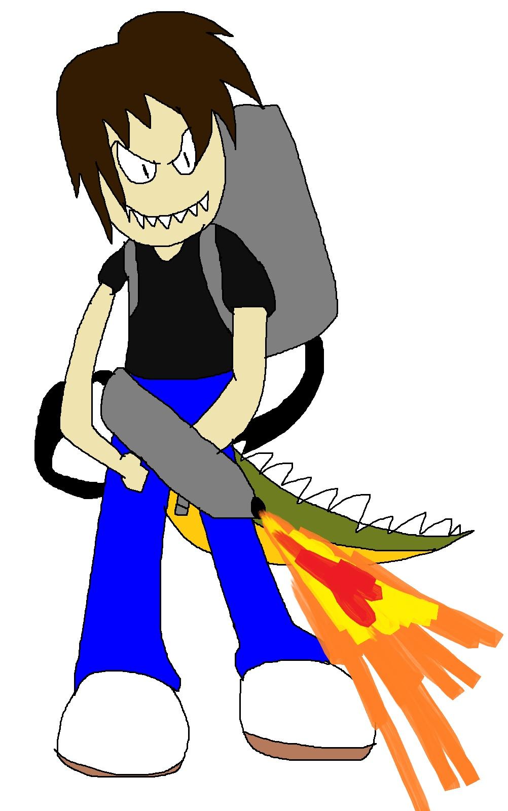 Arthur doing like Dingodile by Rainbow-Dash-Rockz