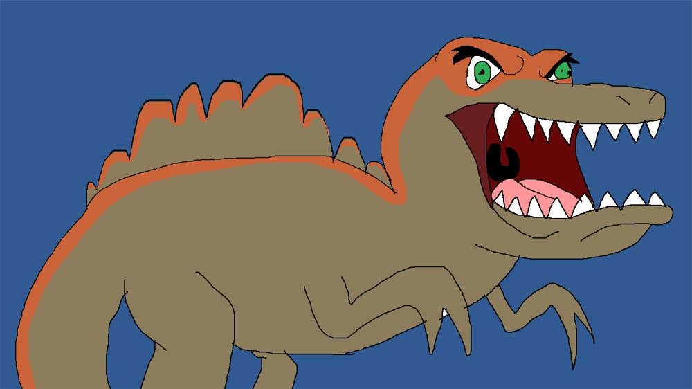 Spinosaurus v2 by Rainbow-Dash-Rockz