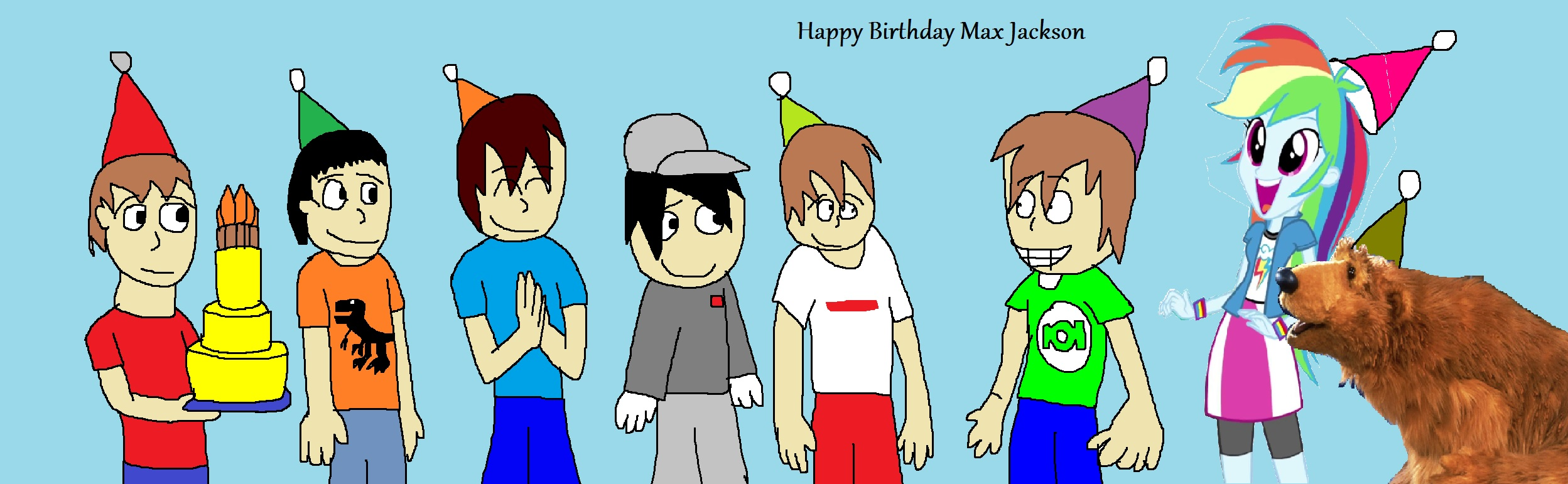 Happy Birthday Max Jackson by Rainbow-Dash-Rockz
