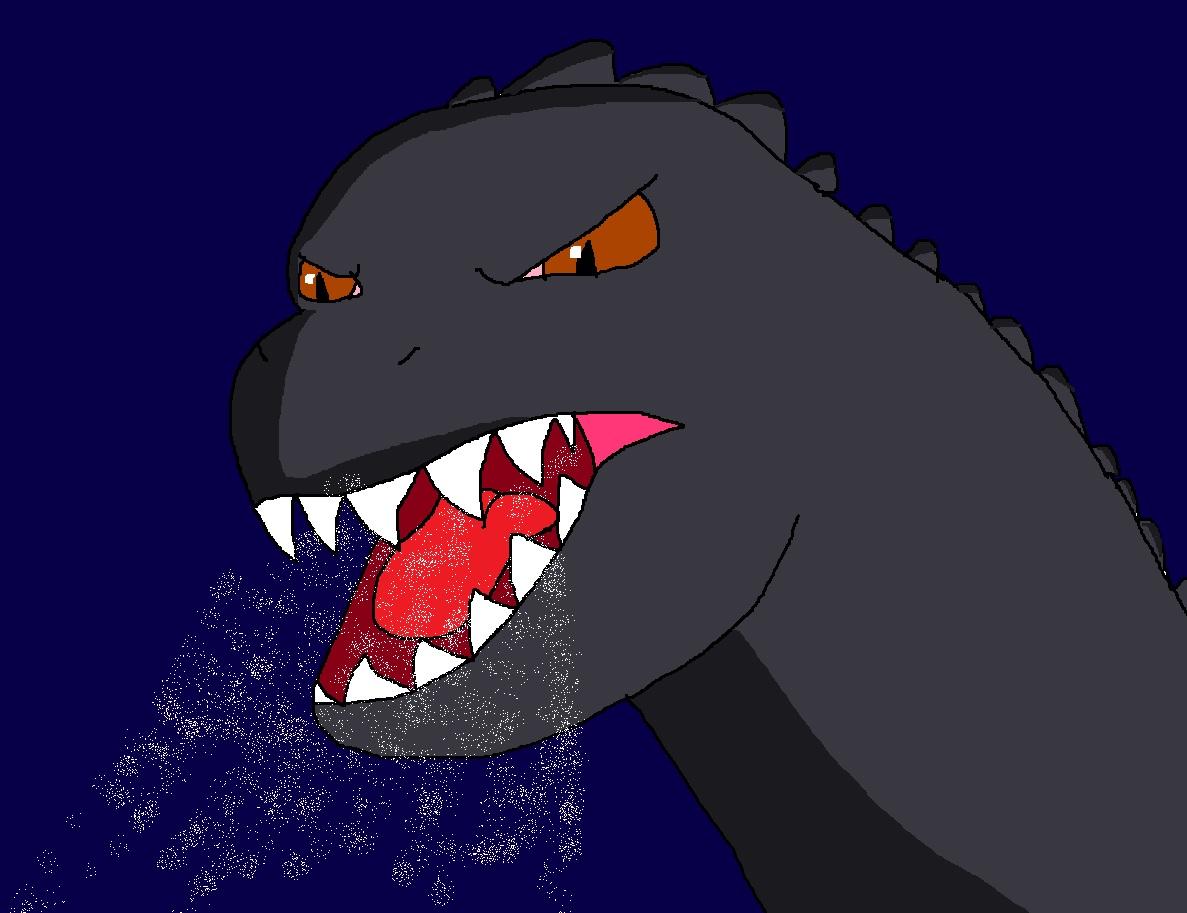Godzilla's Very Angry Roar by Rainbow-Dash-Rockz